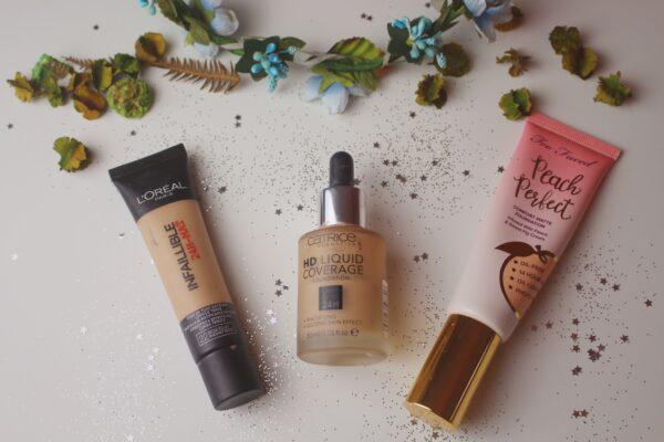 Melhores bases para pele oleosa
