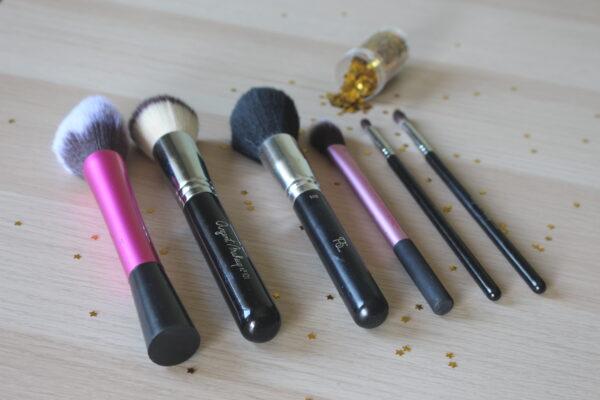 6 pincéis de maquilhagem essenciais
