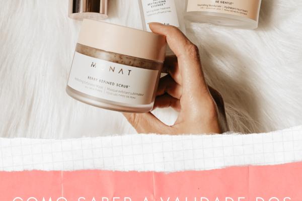Como saber a validade dos produtos de cuidados de pele?