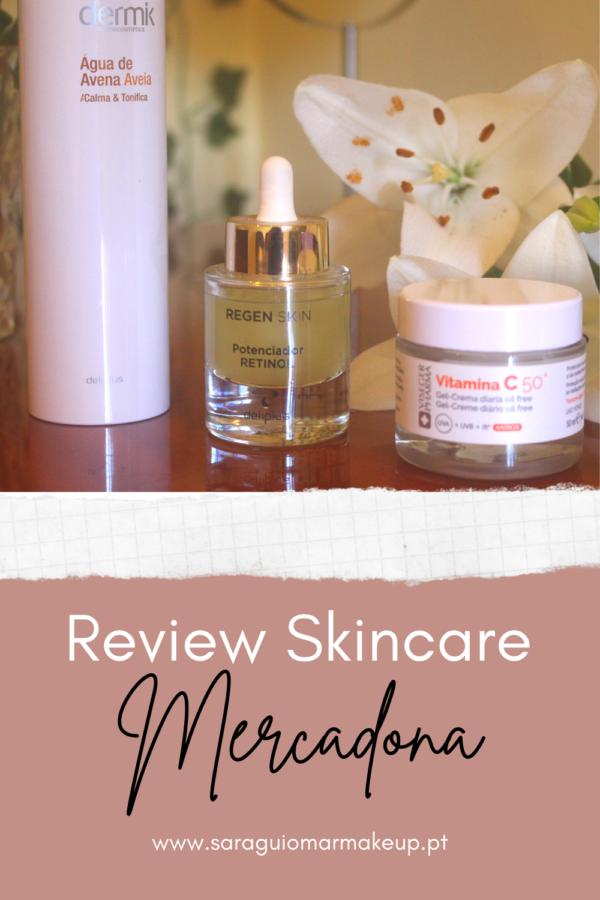 Review skincare do Mercadona
