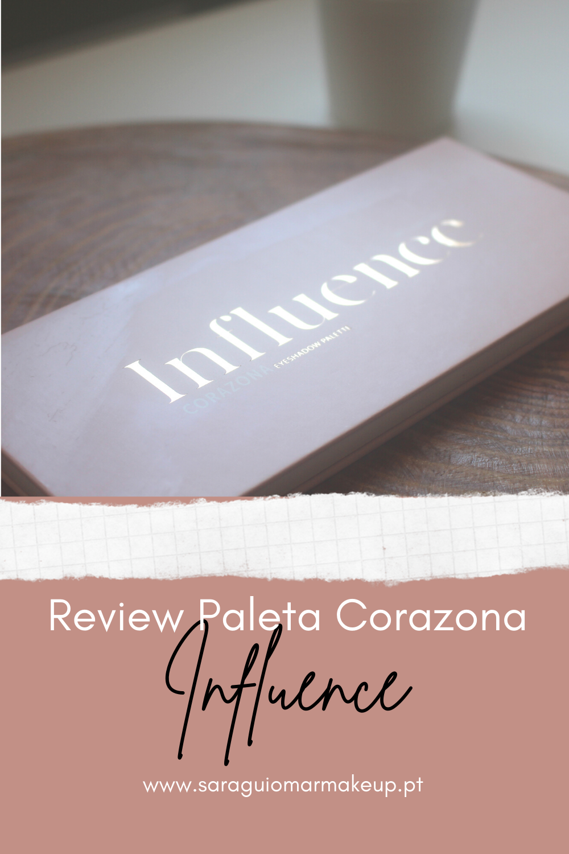Review paleta Influence Corazona