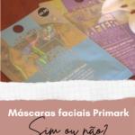 Máscaras Faciais Primark
